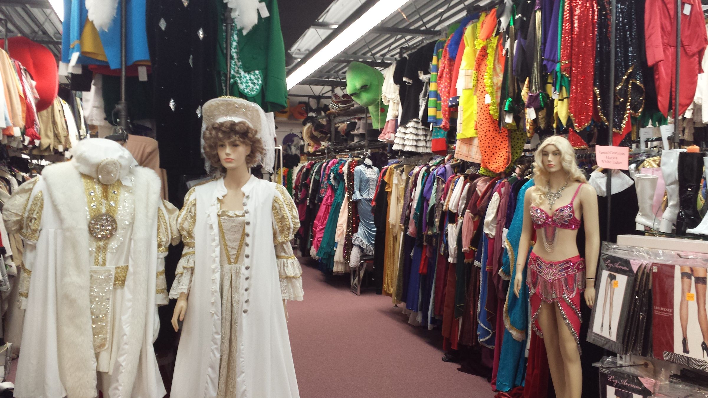 Rental costumes for adults