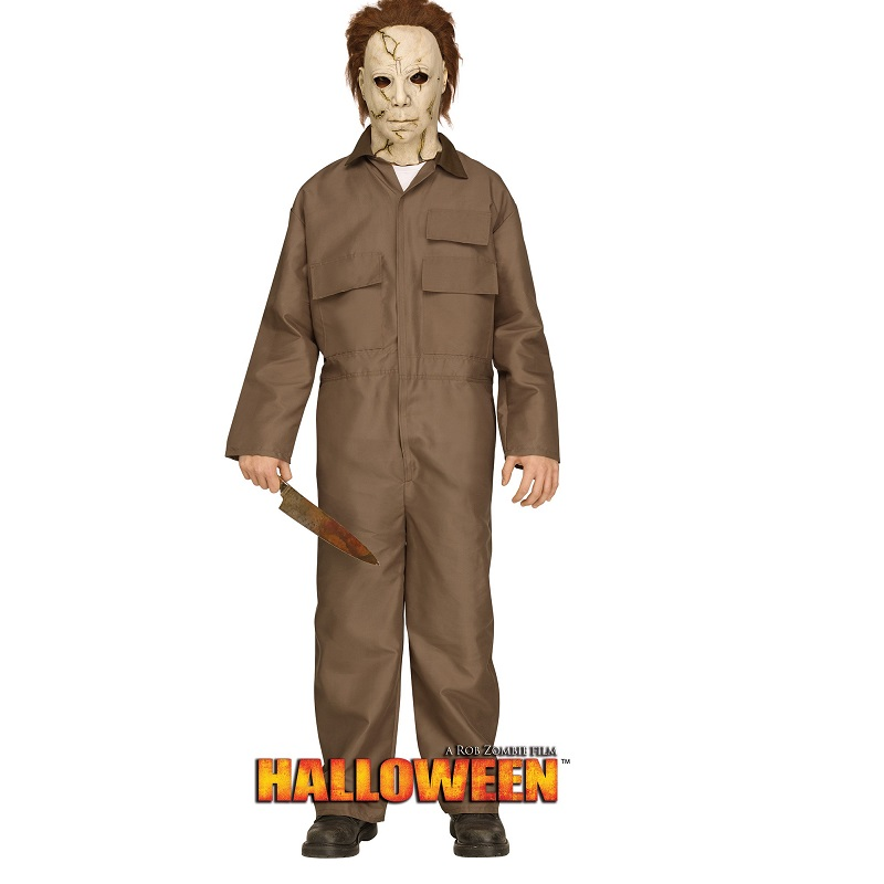 Halloween Michael Myers Costume.Mike Myers Rob Zombie Halloween Adult Teen Costume