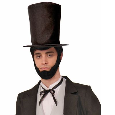 Abraham Lincoln Beard And Hat
